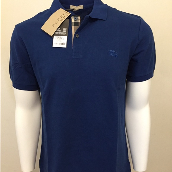 ee6c79e15 Burberry Brit Men s Classic Polo Shirt Blue